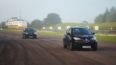 Renault Zoe hypermiling feature - driving