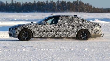 New BMW 7 Series pan