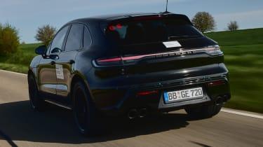 Porsche Macan prototype - rear