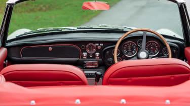 Electric Aston Martin DB6 Mk2 Volante - interior