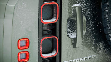 2019 Land Rover Defender rear lights