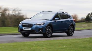 Subaru XV - front cornering