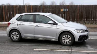 Volkswagen Polo hatchback spied - side