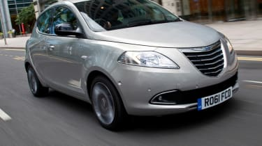 The Ypsilon is another venture between chrysler and Lancia.
