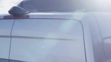 New Mercedes Sprinter 2018 teaser video screen shots roof