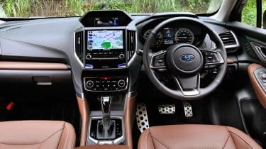 Subaru Forester - dash