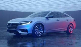 2018 Honda Insight front quarter