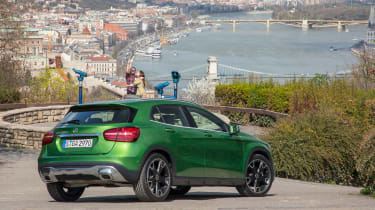 Mercedes GLA 2017 facelift static