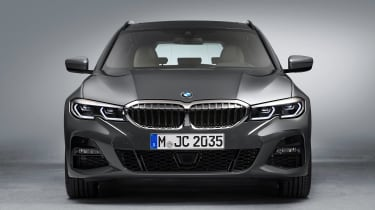 BMW 3 Series Touring - studio full front