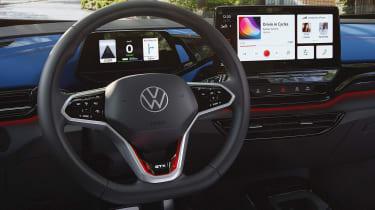 Volkswagen ID.4 GTX - steering wheel