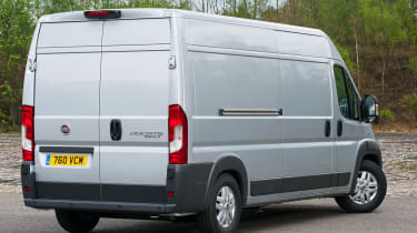 Fiat Ducato 2014 rear static