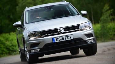 Volkswagen Tiguan - front action