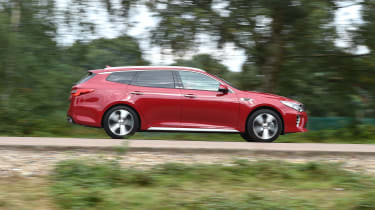 Kia Optima Sportswagon - side