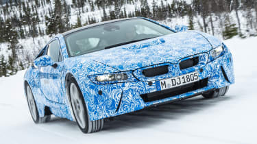 BMW i8 front tracking