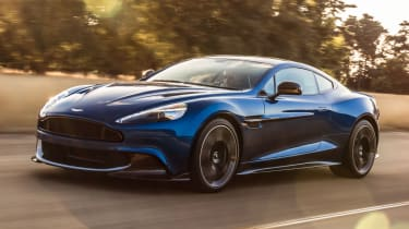 Aston Martin Vanquish S 2016 - front tracking 2