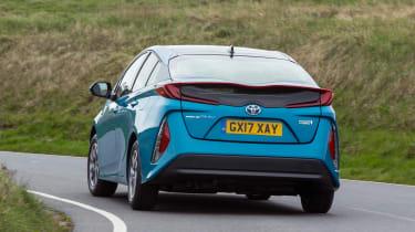 Toyota Prius Plug-in - rear cornering