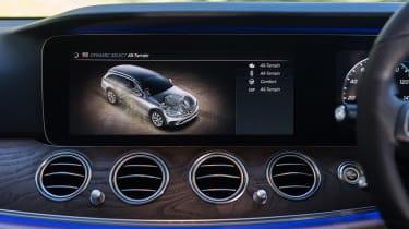 Mercedes E-Class All-Terrain - infotainment