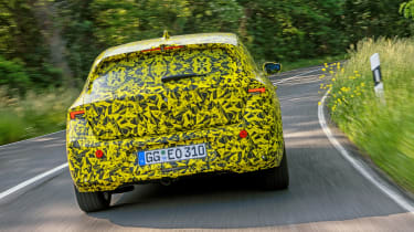 Vauxhall Astra prototype - rear action