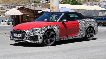 Audi S5 Cabriolet - spyshot 3