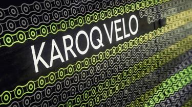 Skoda Karoq Velo - decals