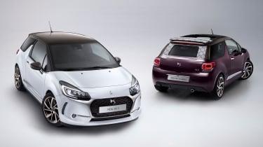 DS 3 hatchback and Cabrio - header