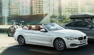 BMW 4 Series convertible leaked