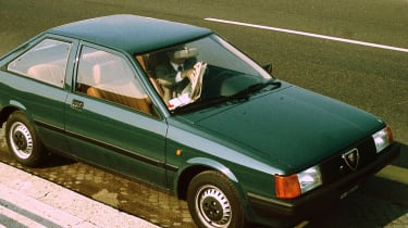Top 10 worst cars - Alfa Romeo Arna green