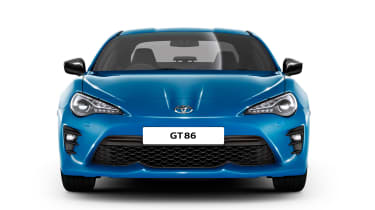 Toyota GT86 Club Series Blue Edition - full front