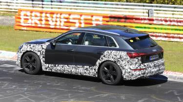 Audi e-tron S - spyshot 5