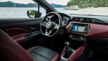 Nissan Micra 2017 petrol - interior 2