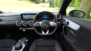 Mercedes A 250 Saloon - interior