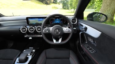 Mercedes A 250 Saloon - interior