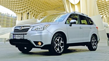 Subaru Forester front static