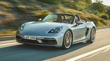 Porsche Boxster 25 Years - front