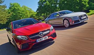 Mercedes-AMG E 63 S vs Audi RS7 Performance - header