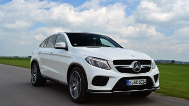 Mercedes GLE Coupe 2015 front