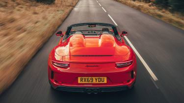 Porsche 911 Speedster - full rear