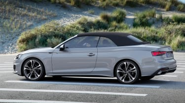 2019 Audi A5 Cabriolet - rear 3/4 static roof up