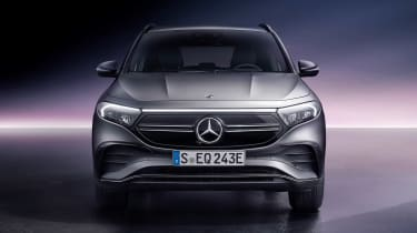 Mercedes EQA - full front studio