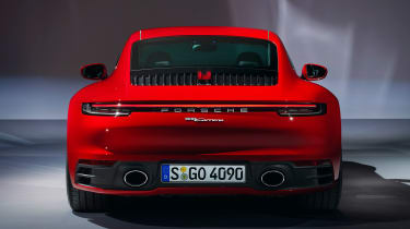 Porsche 911 Carerra Coupe - rear