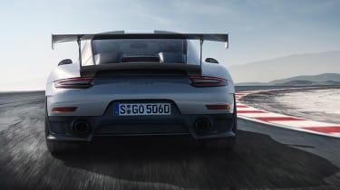 Porsche 911 GT2 RS - full rear