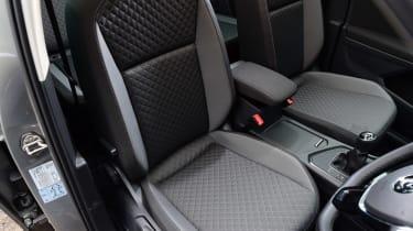 Volkswagen Tiguan - front seats