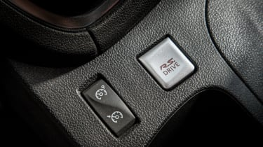 Renault Clio RenaultSport R.S.16 2016 - RS button