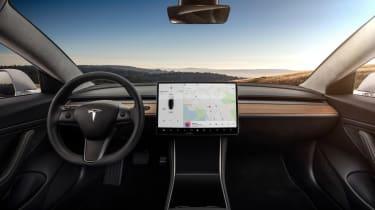 Tesla Model 3 dash