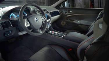 Jaguar XKR-S GT interior