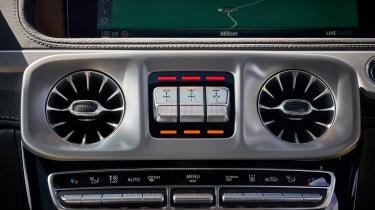 Mercedes G 350 d - diff settings