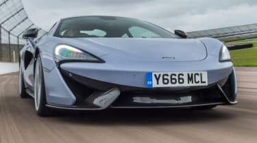 Best track day cars - McLaren 570S Track Pack