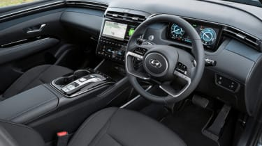 Hyundai Tucson - dash