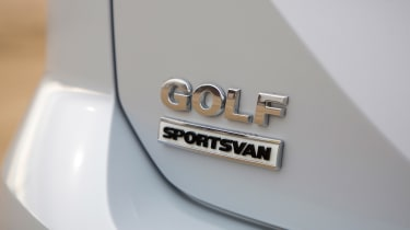 VW Golf SV - badge