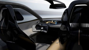 Nissan IMQ concept - interior overview